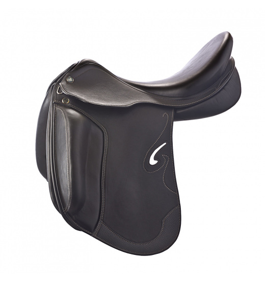 DRESSAGE DREAM D SADDLE STUFFED - 1 in category: dressage for horse riding