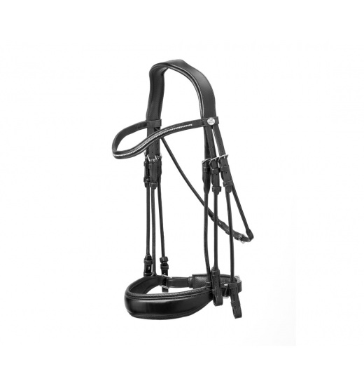 E135 SPORT DRESSAGE BRIDLE