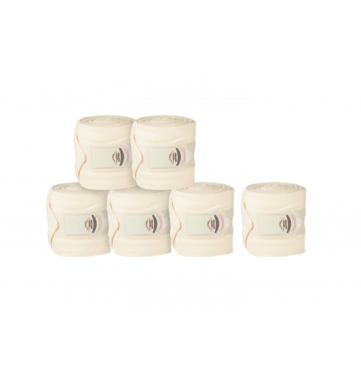 PONY FLEECE BANDAGES HERITAGE (4-PACK)