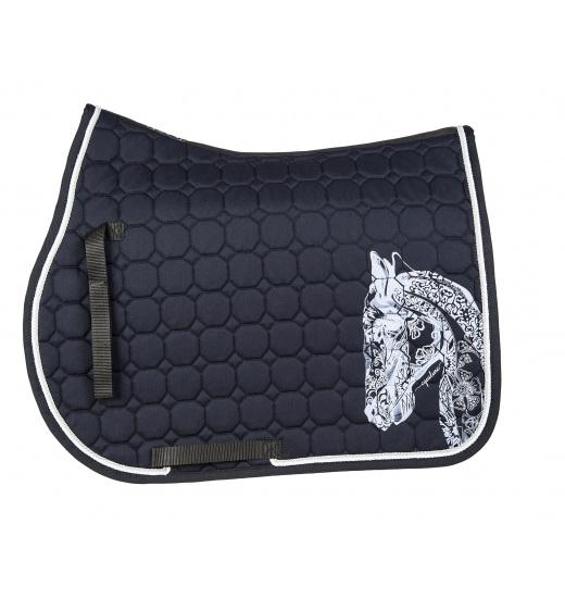 HOLLY HORSE OCTAGONE SADDLE CLOTH