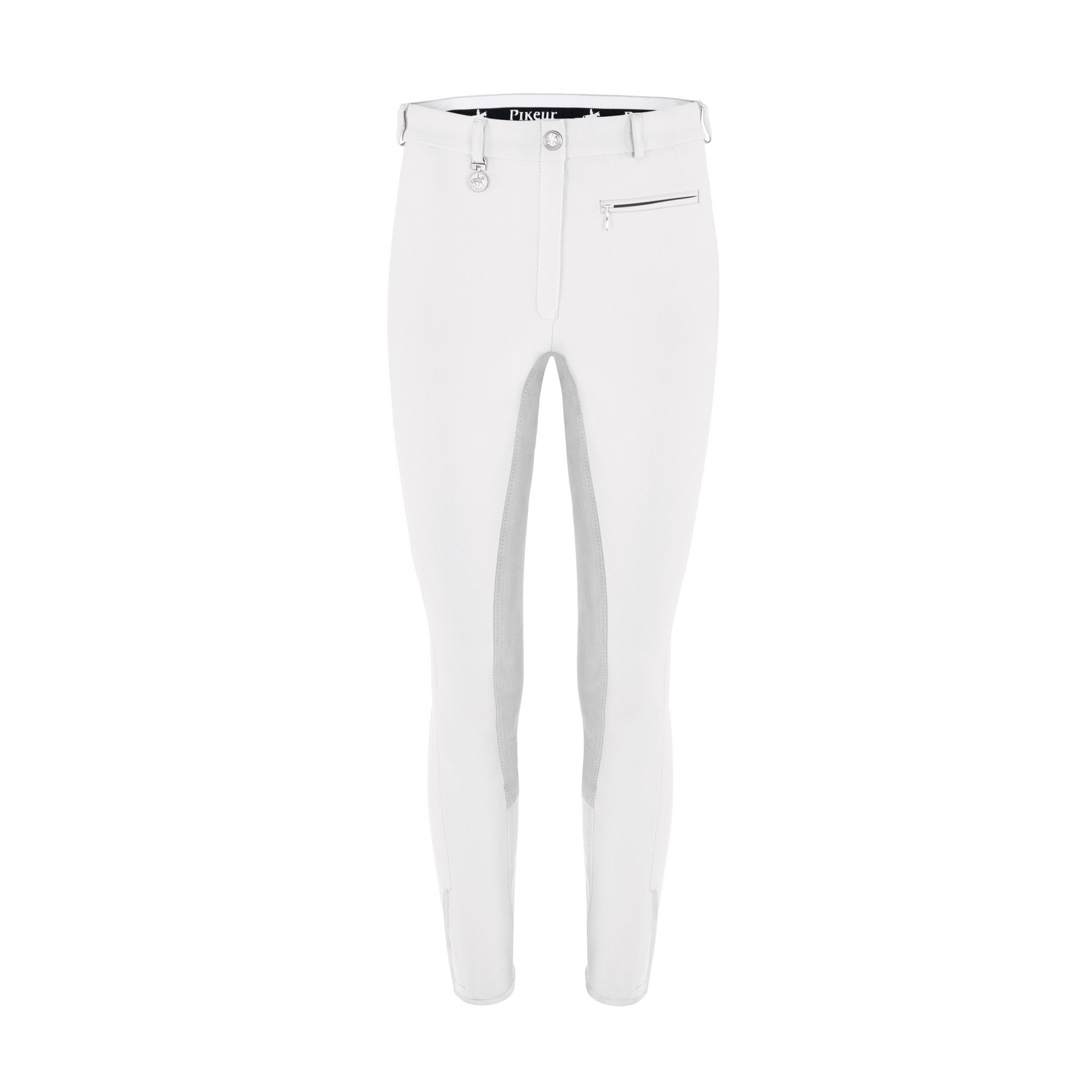 Ladies Womens Equestrian Horse Riding Competition Jumping Crown Denim Breeches And Colours