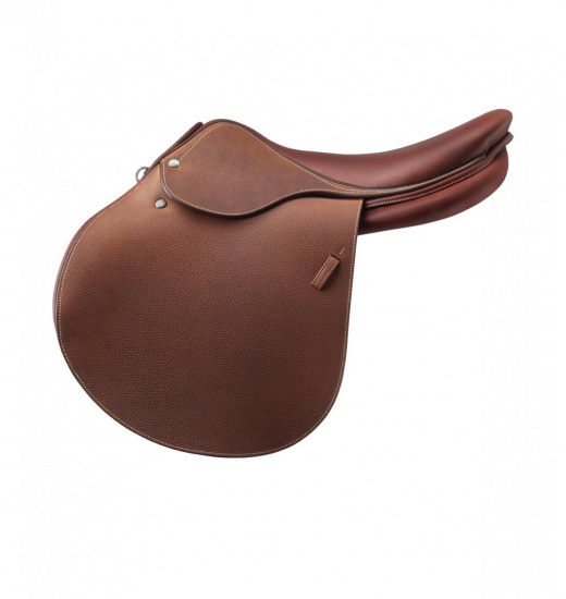 PRINTED LEATHER H JUMPING SADDLE