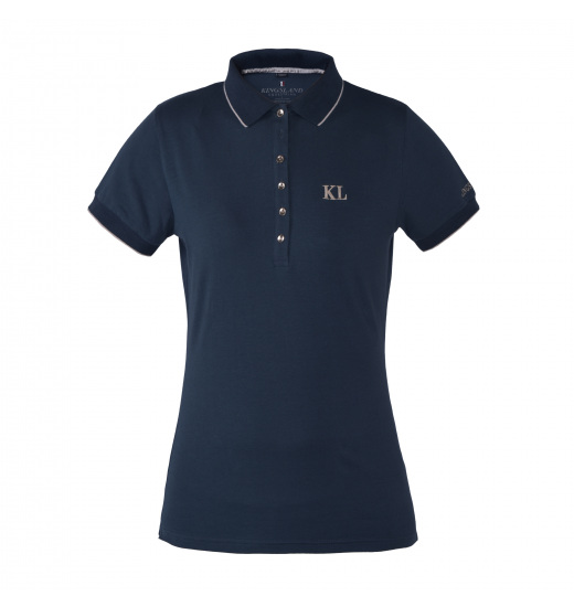 ESTEPONA GIRLS' COTTON POLO SHIRT