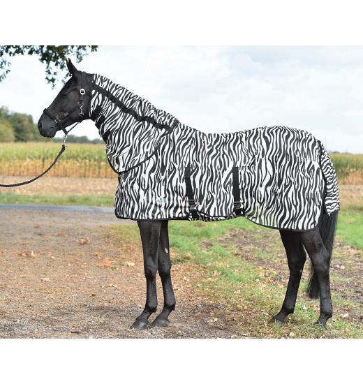 ZEBRA MESH HORSE RUG