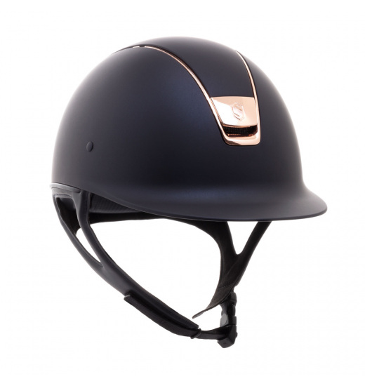 Samshield SAMSHIELD KASK SHADOWMATT / ROSE GOLD TRIM / ROSE GOLD BLASON / GRANATOWY