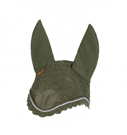 ARTWORK ANTI FLY HOOD PLATINUM - 1 in category: fly hats for horse riding