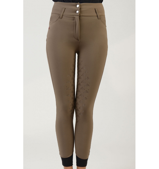 CHARLOTTE WOMEN'S DRESSAGE FULL GRIP BREECHES - 13 in category: breeches for horse riding