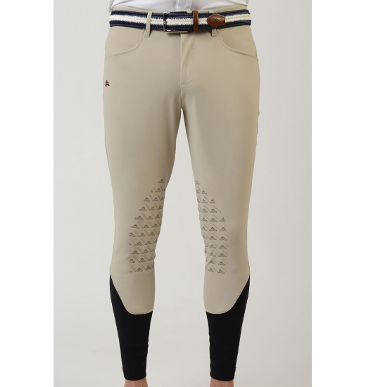 MaKeBe RALPH MEN'S KNEE GEL GRIP BREECHES