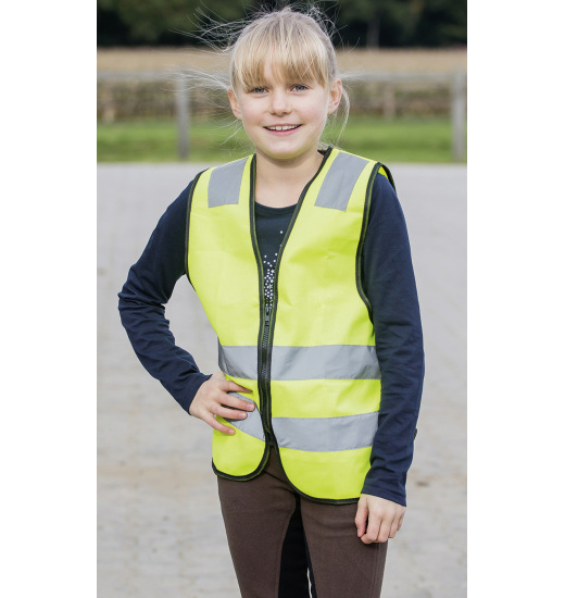REFLECTIVE WAISTCOAT SHINE-KIDS - 1 in category: Kids for horse riding