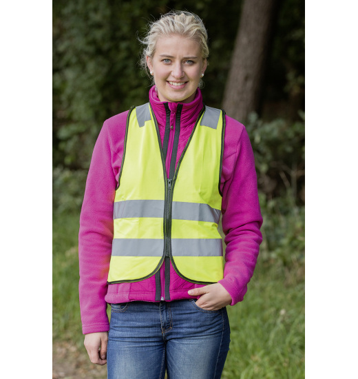 REFLECTIVE WAISTCOAT SHINE - 1 in category: vests for horse riding