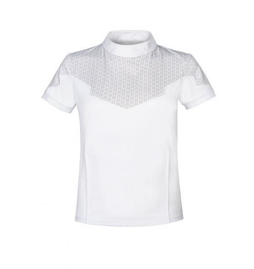 Equiline SNOWHITE GIRL'S COMPETITION POLO