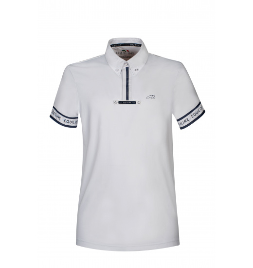 Equiline EQUILINE PIRITE MAN POLO COMPETITION SHORT SLEEVE