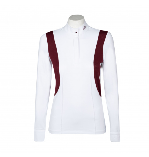 Equiline VANESSA WOMEN'S COMPETITION POLO SHIRT LONG SLEEVE