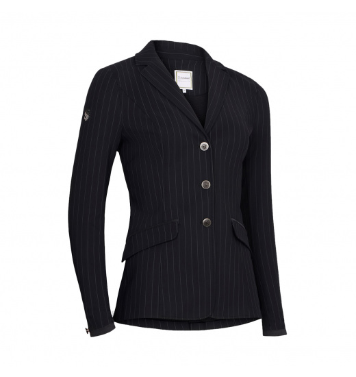 ALIX TENNIS STRIPES WOMEN'S SHOW JACKET - 1 in category: show jackets for horse riding