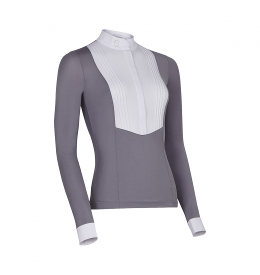 SOPHIA WOMEN'S LONGSLEEVE SHOW SHIRT - 1 in category: showshirts for horse riding