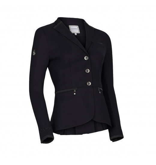 VICTORINE CRYSTAL FABRIC WOMEN'S SHOW JACKET - 1 in category: show jackets for horse riding