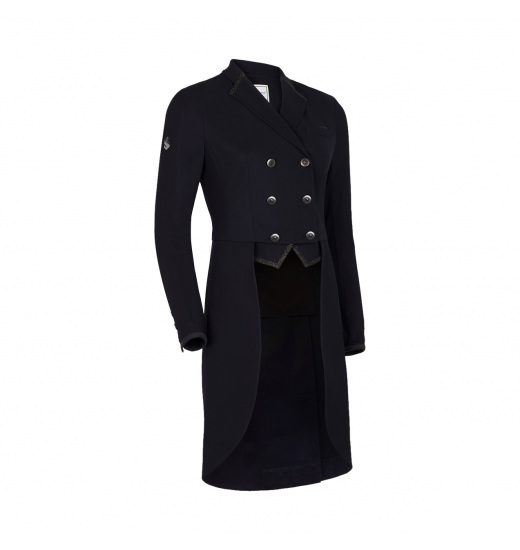CRYSTAL FABRIC WOMEN'S TAILCOAT
