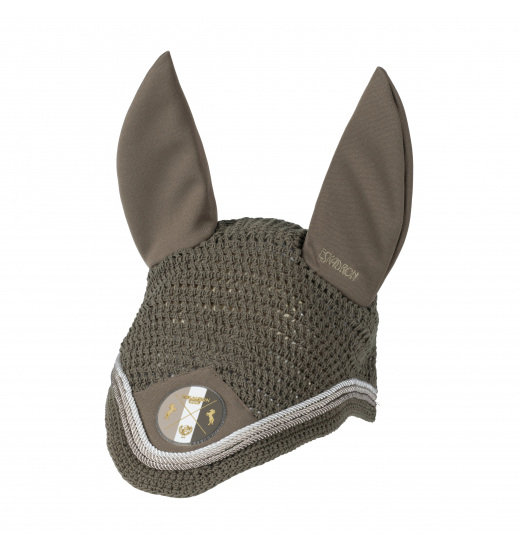 ARTWORK HORSE FLY HOOD HERITAGE - 1 in category: fly hats for horse riding