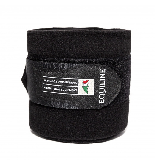 Equiline POLO FLEECE BANDAGES 4-PACK