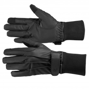 Horze Leather 3-Finger Mittens Horse Riding Gloves