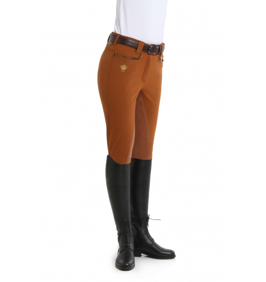KELLY LADIES BREECHES WITH LEATHER FULL SEAT