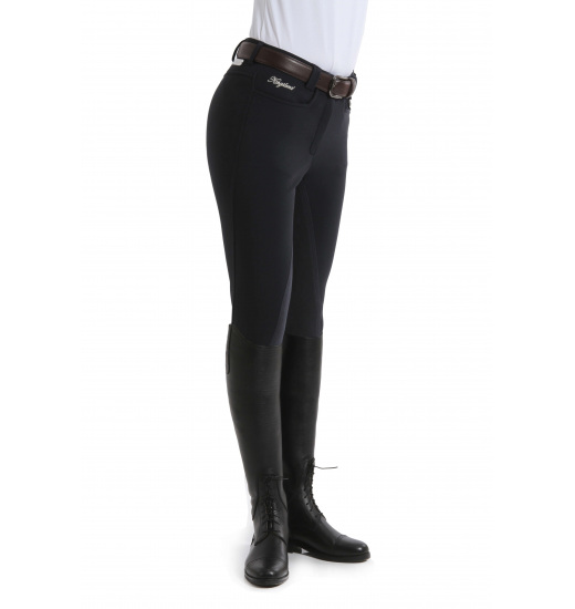 KELLY WINTER LADIES BREECHES WITH LEATHER FULL SEAT