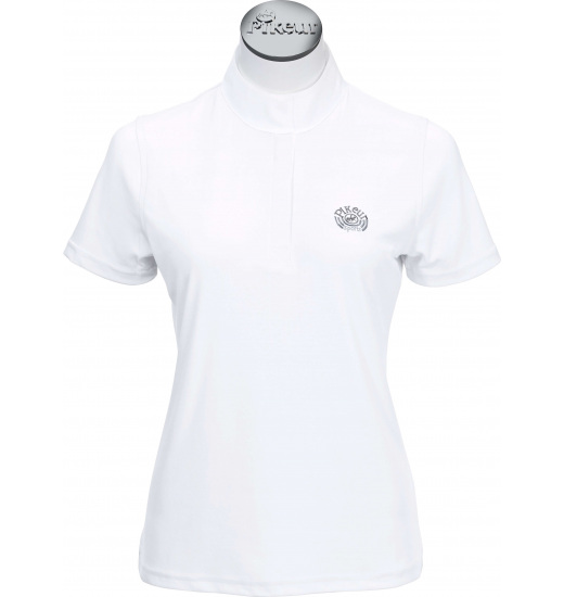 LADIES SHOW SHIRT WITH SHORT SLEEVE