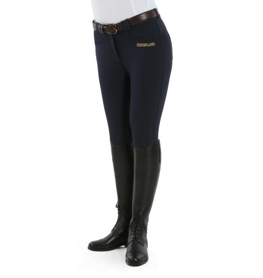 LADIES KELLY SLIM FIT BREECHES WITH MICROFIBER SU14 - 5 in category: breeches for horse riding