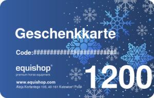 Winter-Geschenkkarte