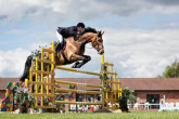 First jumping competition - how to break a horse in