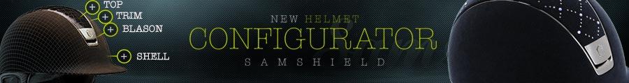 Helmet configurator